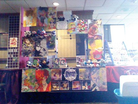 our booth at Ramencon 2014, day 3.